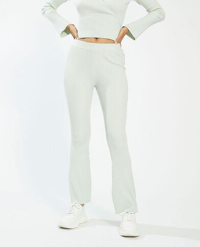 Pantalone a coste verde - Pimkie