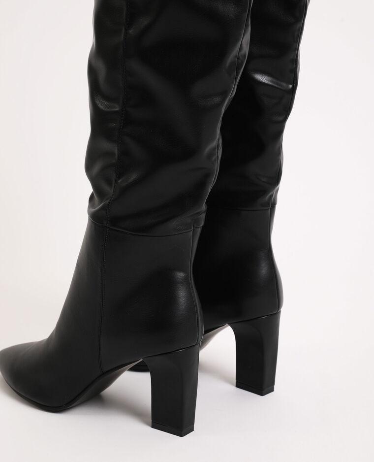 Stivali con tacco nero - Pimkie