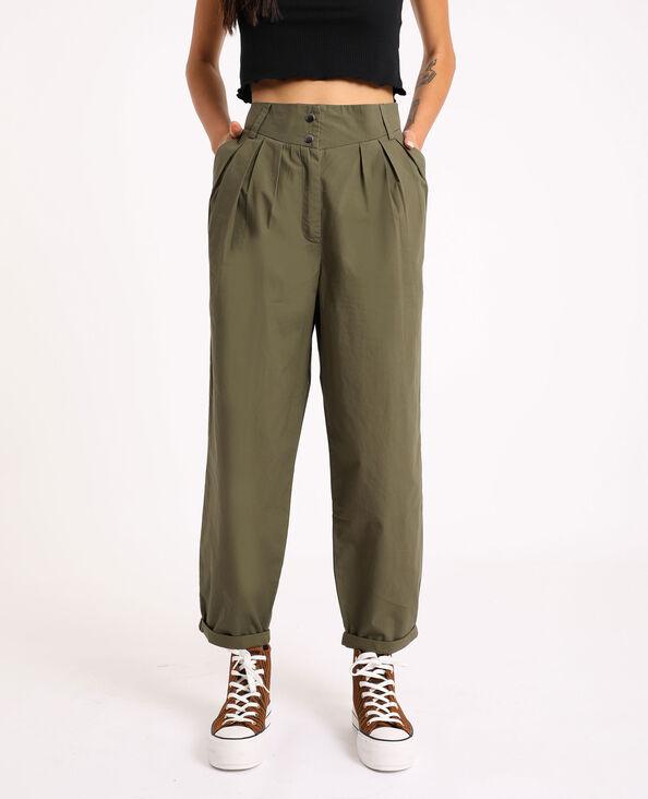 Pantalone slouchy verde - Pimkie