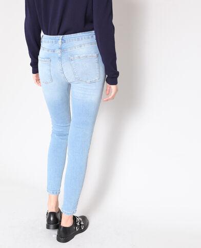 Jeans skinny elasticizzati blu chiaro