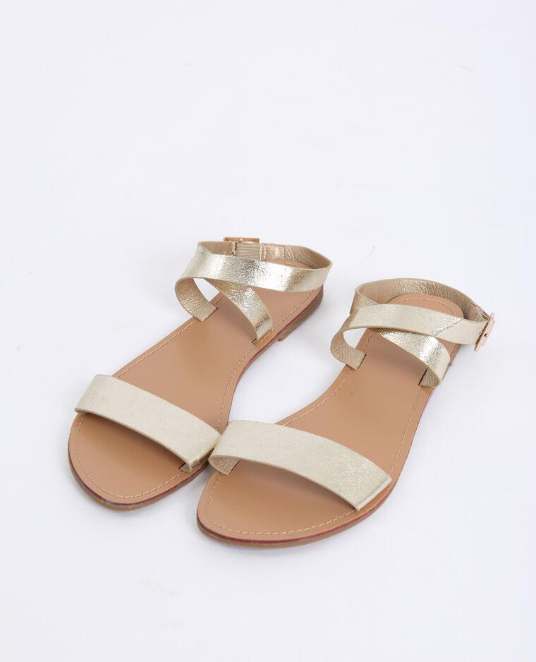 Sandali bassi giallo