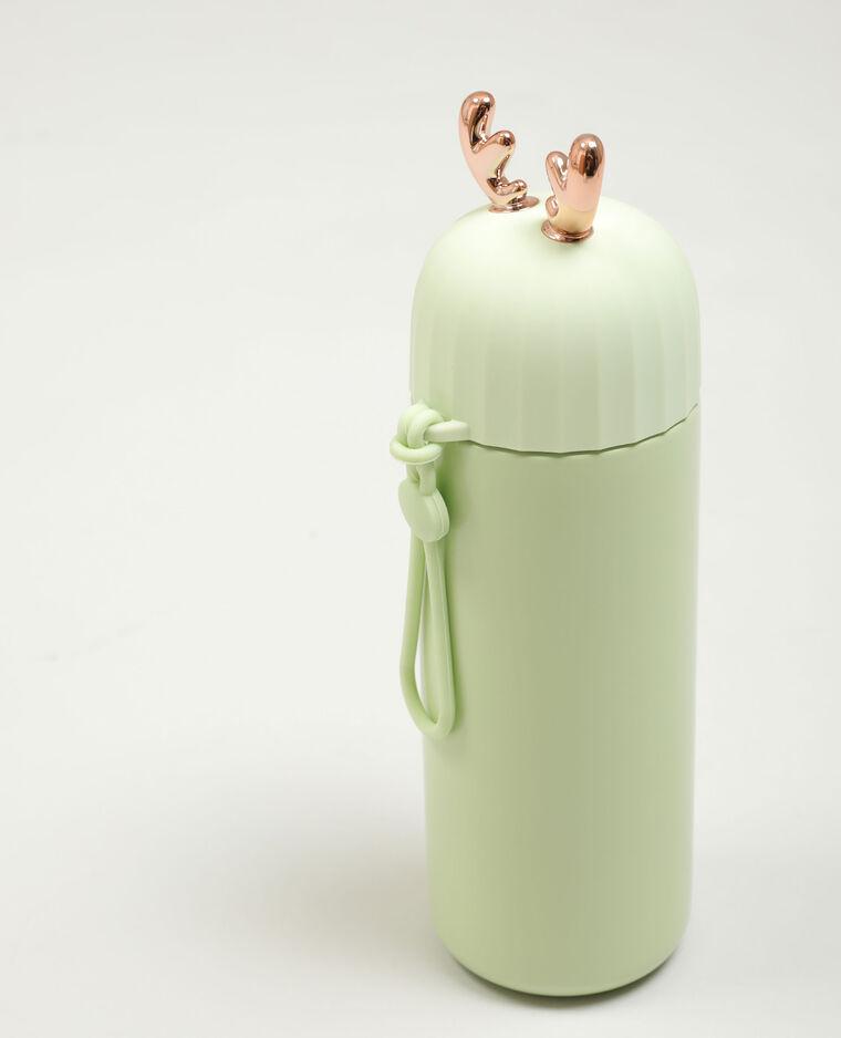 Borraccia corna di renna verde acqua - Pimkie