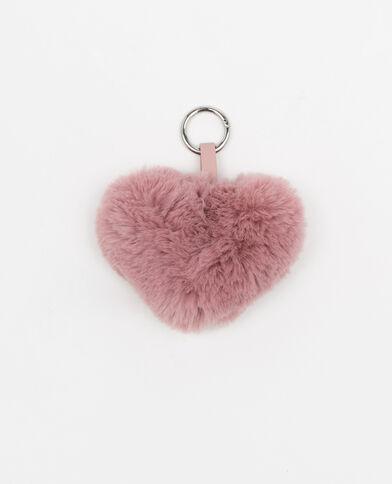 Portachiavi cuore rosa