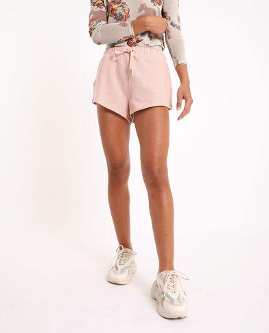 Short in maglia rosa