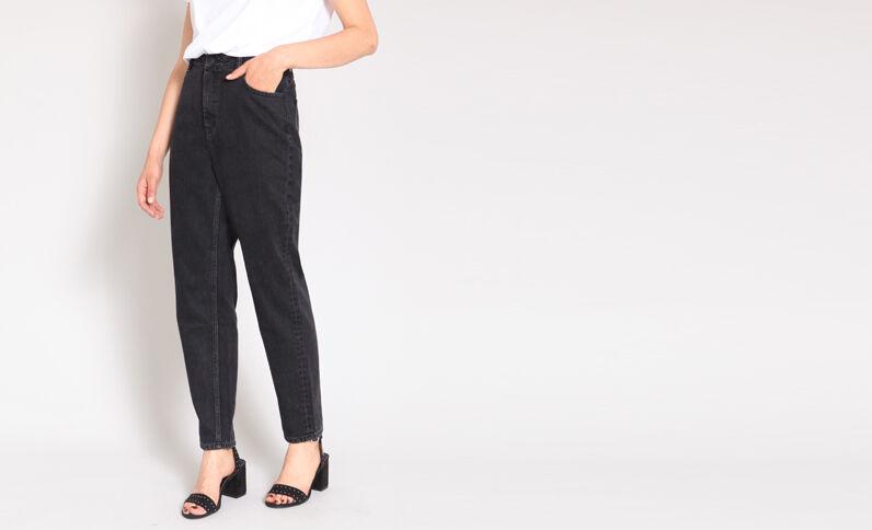 Jeans mom nero