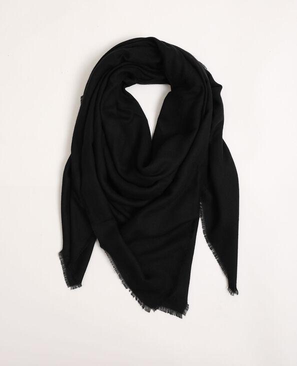 Foulard basic nero