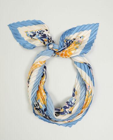 Foulard a fiori blu - Pimkie