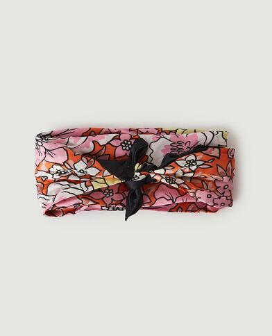 Foulard per capelli a fiori rosa - Pimkie