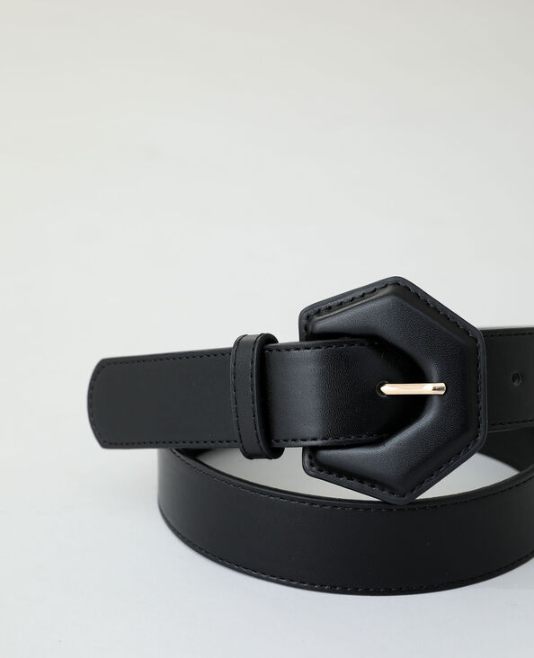Cintura in similpelle nero - Pimkie