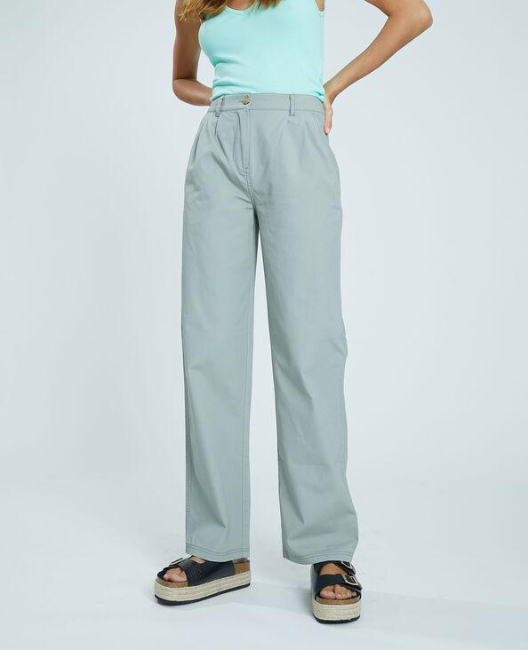 Pantalone in tela kaki - Pimkie