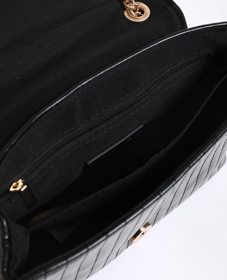 Piccola borsa trapuntata nero