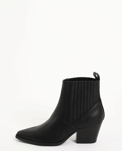 Boots in stile western nero