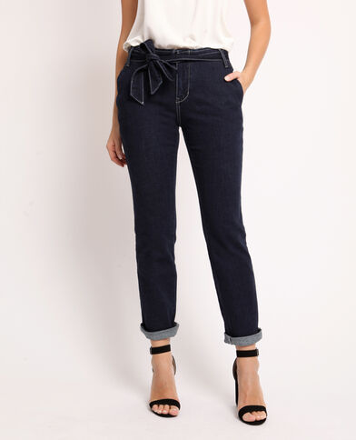 Jeans largo blu