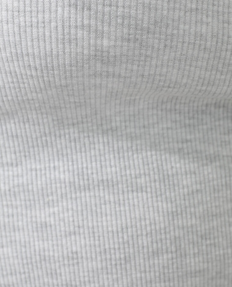 Canotta basic grigio chiné - Pimkie