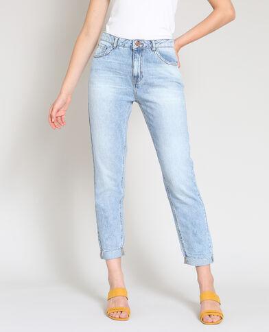 Jeans mum blu chiaro
