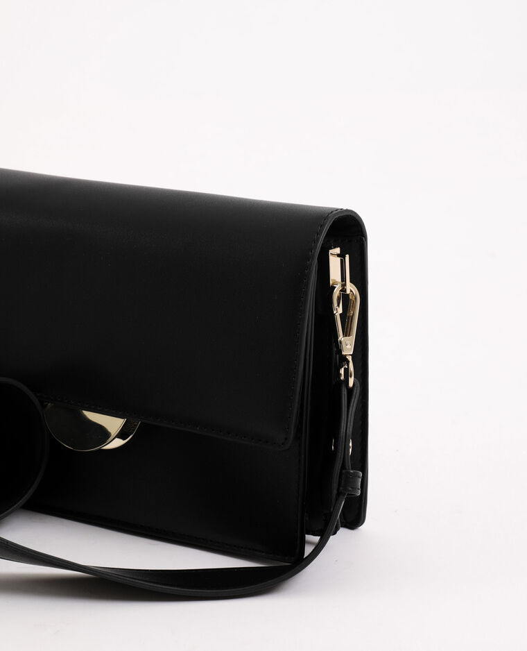 Borsa in similpelle nero