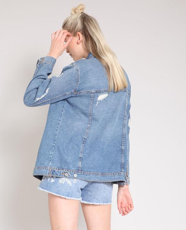 Giacca in jeans XL blu denim