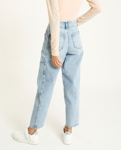 Jeans slouchy blu delavato
