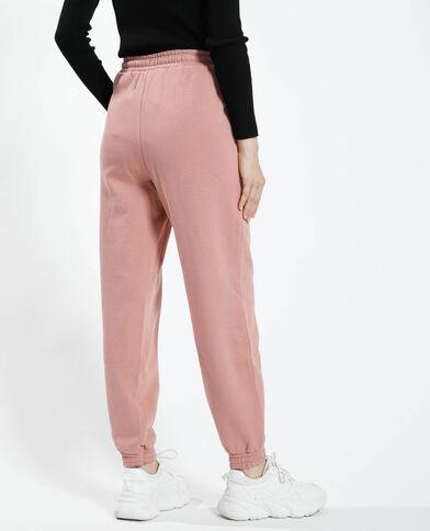 Pantalone da jogging felpato rose palo - Pimkie