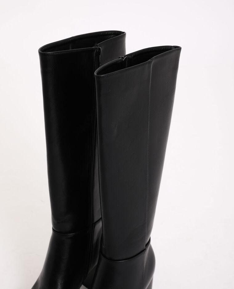 Stivali con tacco alto nero