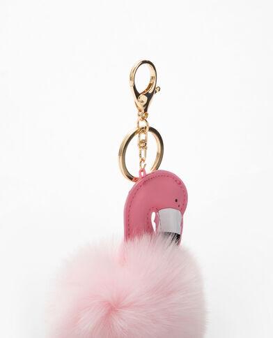 Portachiavi fenicottero rosa rosa