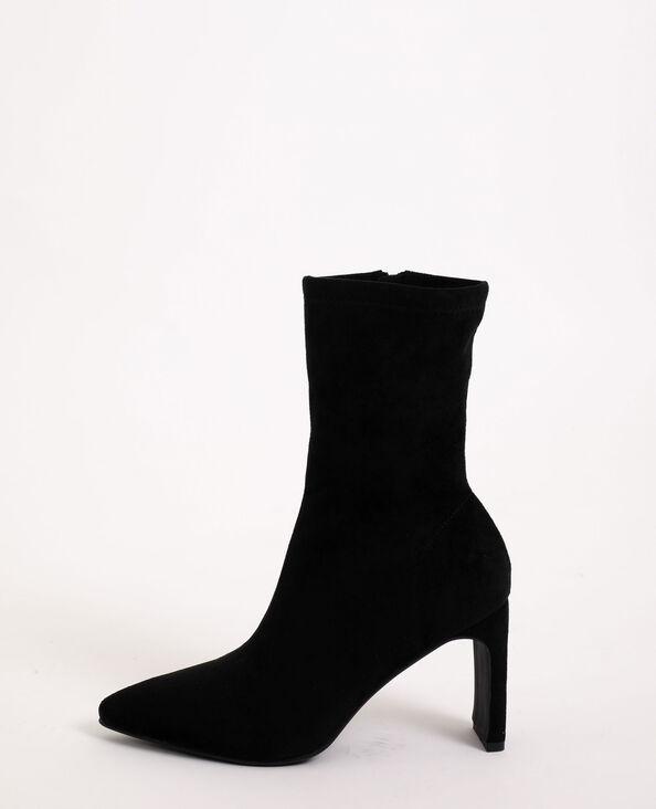 Stivali in microfibra nero