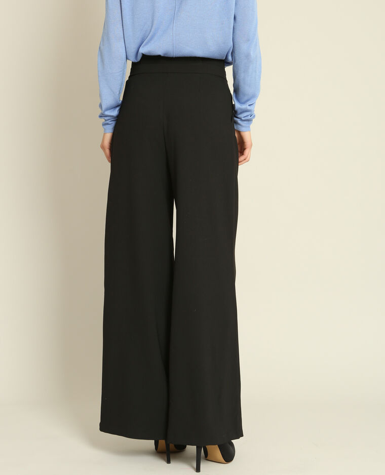 Pantalone Largo Nero 140552899a08 Pimkie