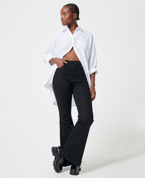 Jeans flare nero - Pimkie