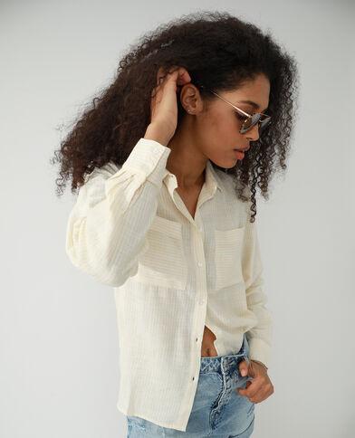 Camicia oversize giallo - Pimkie
