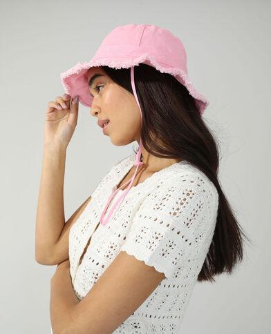 Cappello bob di jeans rosa cipria - Pimkie