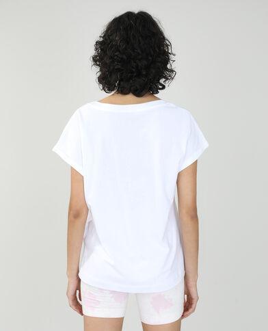 T-shirt basic oversize bianco - Pimkie