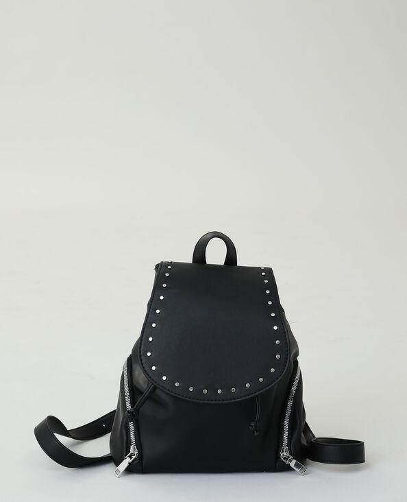 Zaino con borchie nero