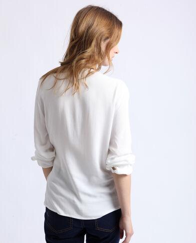 Blusa cache coeur bianco sporco