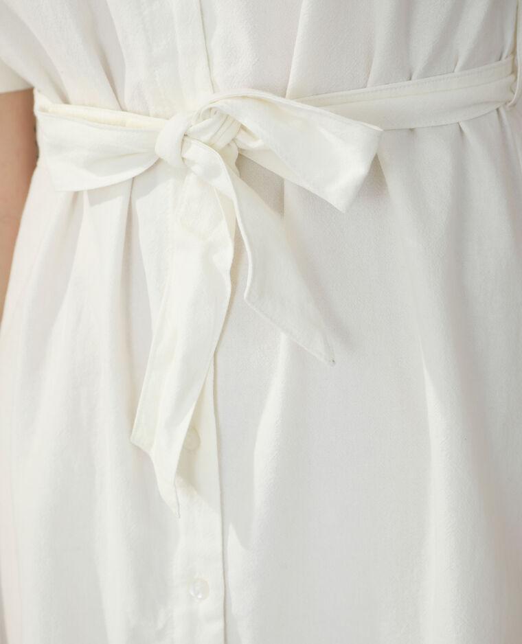Abito camicia bianco sporco - Pimkie