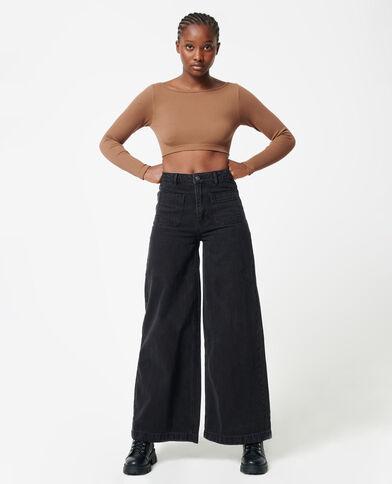Jeans baggy nero - Pimkie