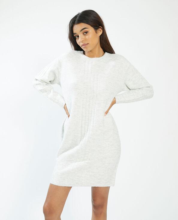 Abito pull bianco - Pimkie