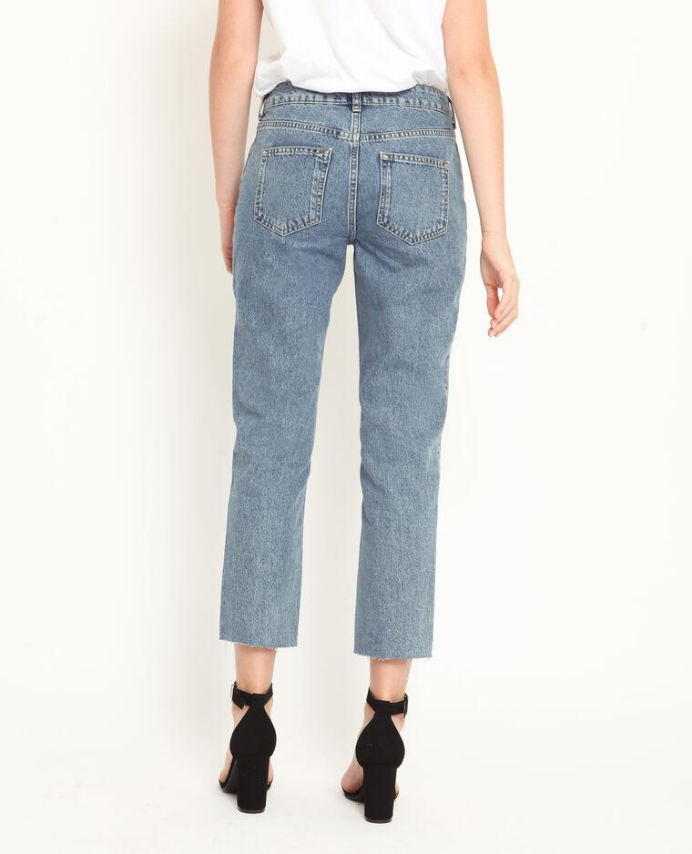 Jeans dritto blu denim