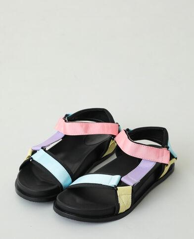Sandali multicolori blu - Pimkie