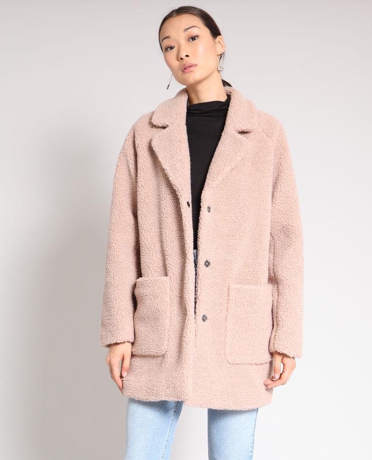 on sale eeae1 dfa56 Cappotto in pelliccia ecologica