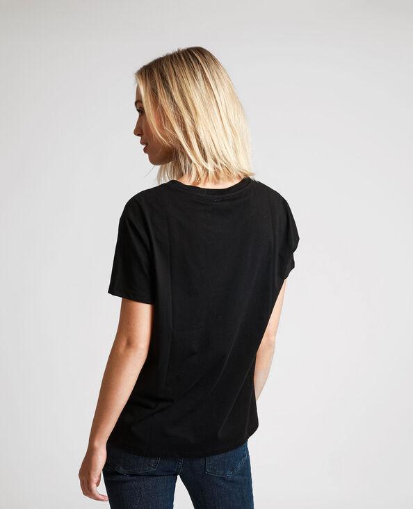 T-shirt David Bowie nero