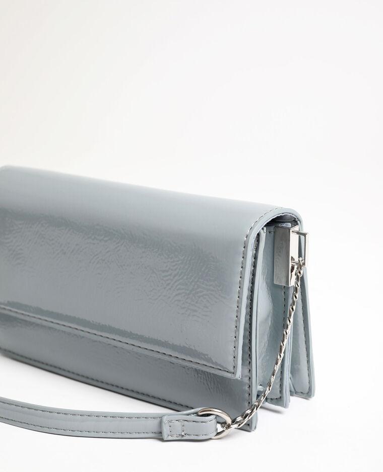 Piccola borsa in vernice blu