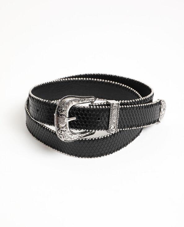 Cintura western nero