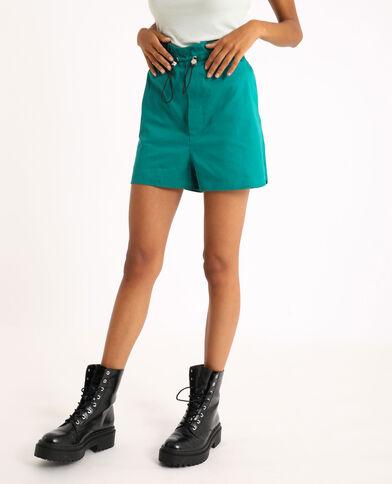 Short ampio verde