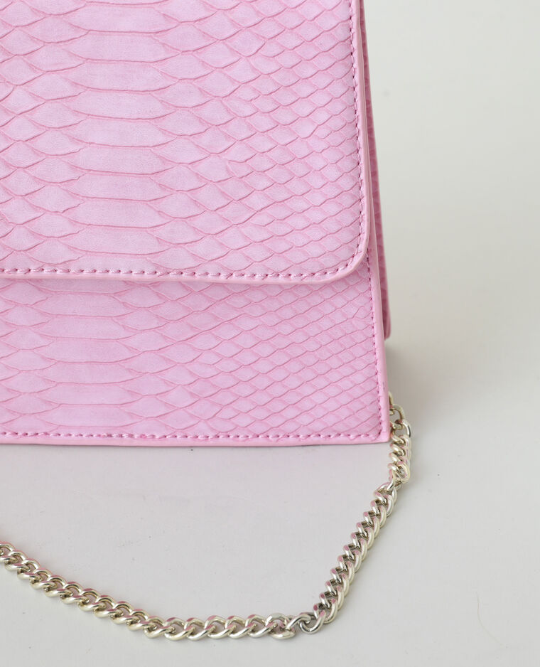 Borsa a mano con perle rosa - Pimkie