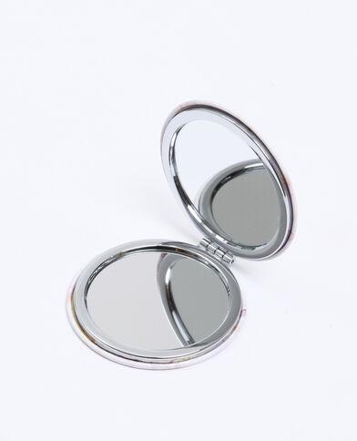 Doppio specchio da tasca beige