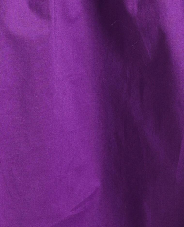 Abito con maniche a sbuffo viola - Pimkie