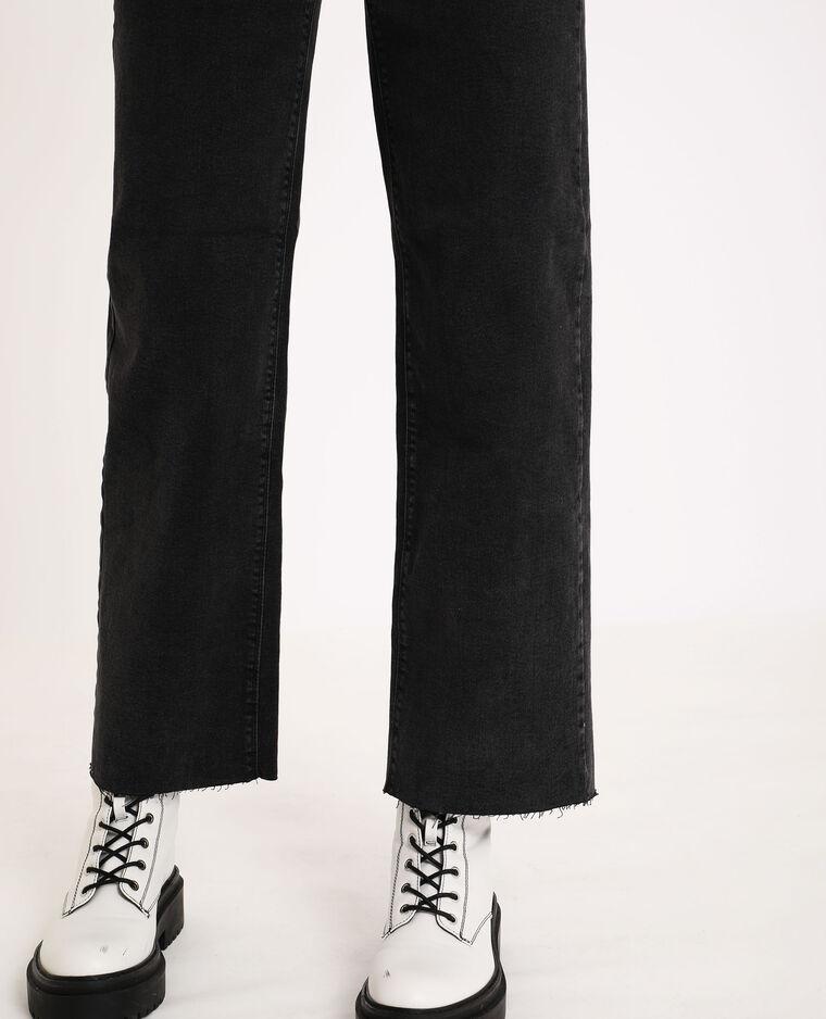 Jeans wide leg nero