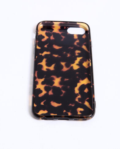 - Custodia compatibile iPhone 6/7/8. marrone