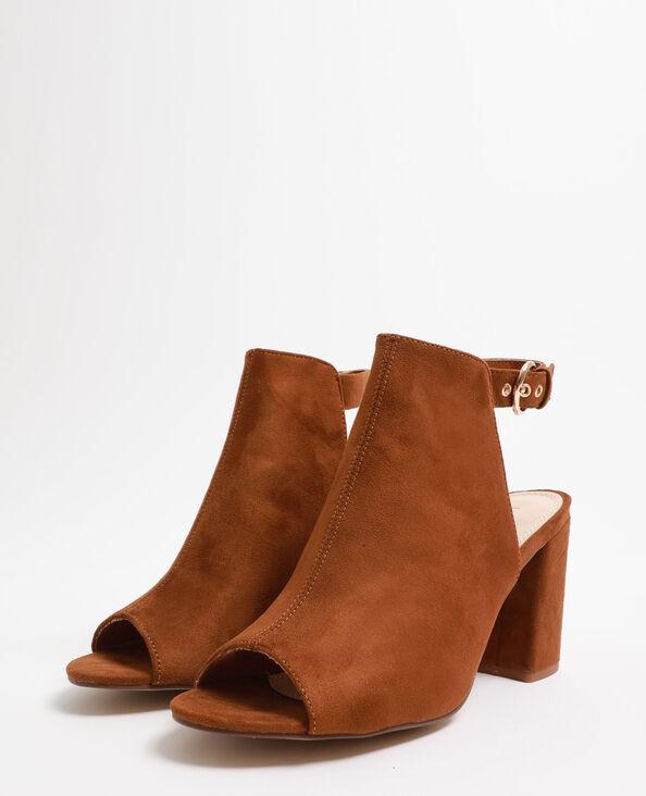 Sandali aperti marrone