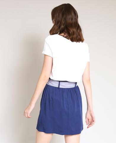 T-shirt La Vie bianco